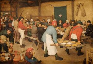 Le repas de noce Pierre Brueghel l'ancien